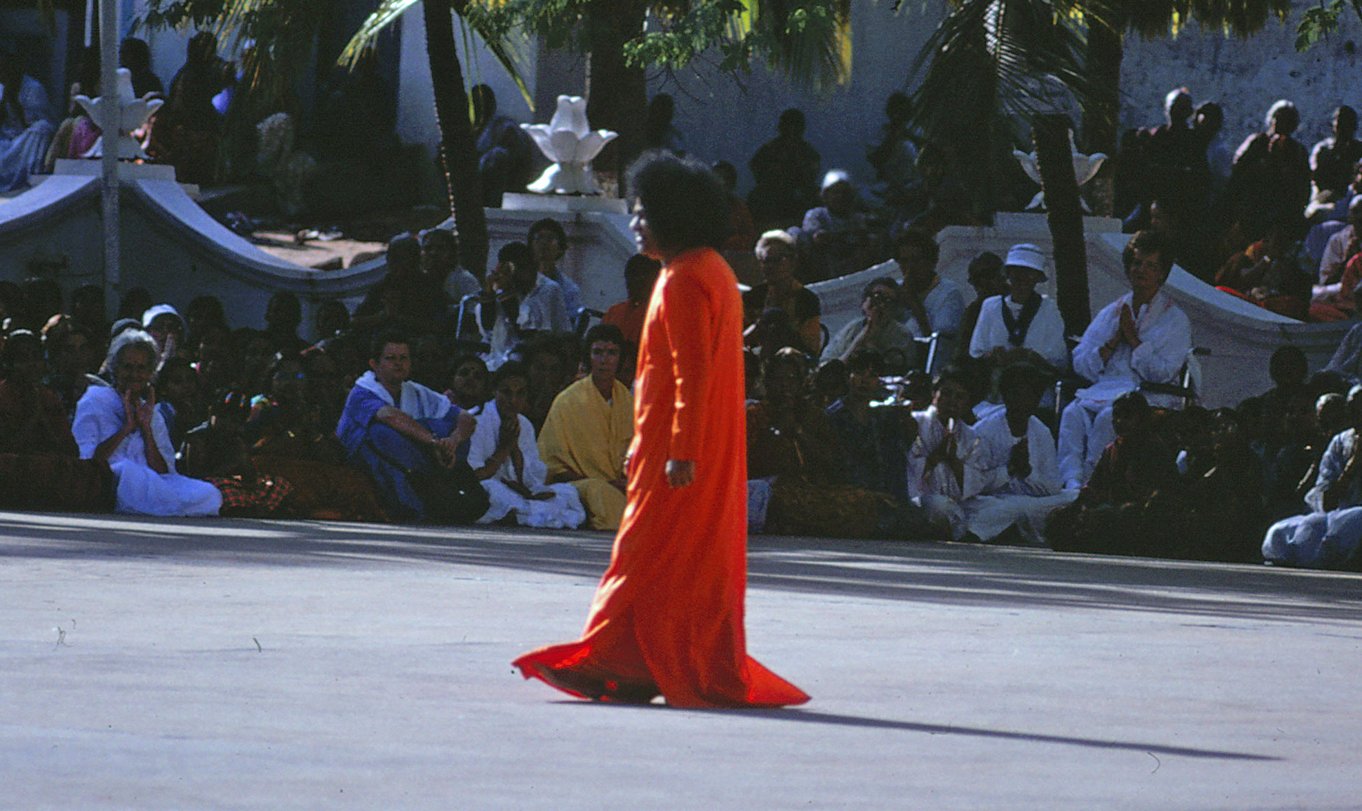 Swami in Puttaparthi - September 1992